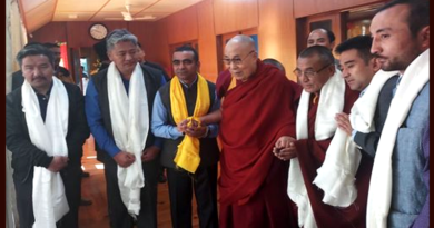 Ladakh Delegation Meets Dalai Lama, Requests for Visit in Summer