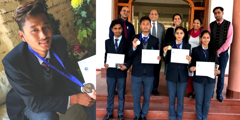 Tibetan Boy Bags Silver Medal in All India Essay Writing