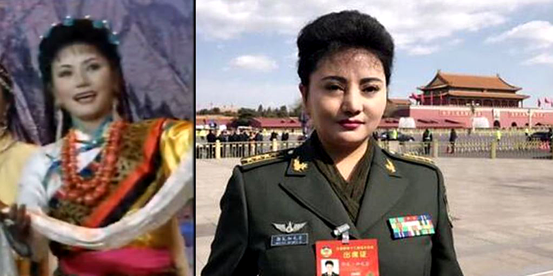 Tibetan Singer Calls to Stop Discrimination Against Her Race at China's Top Political Meeting