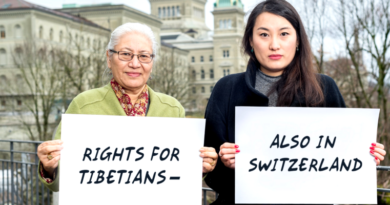 Tibetans in Swiss Facing Trouble from China's Influence