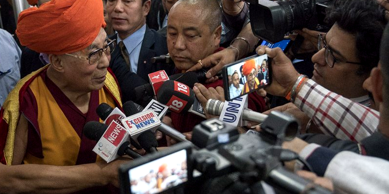 Will Follow as the Indian Government Says: Dalai Lama