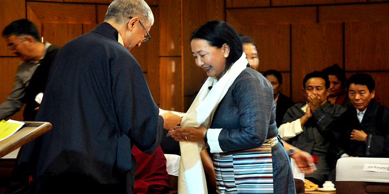 Lone Female Minister Vows to Prioritize Tibetan Language and Culture