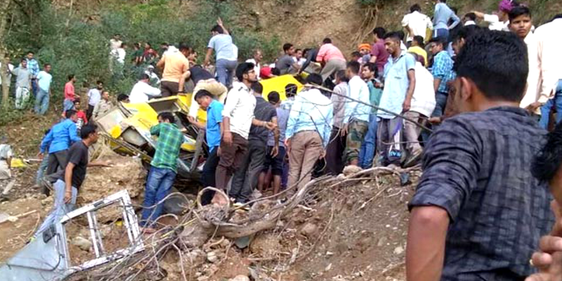 School Bus Accident Claims 30 Lives Near Dharamsala