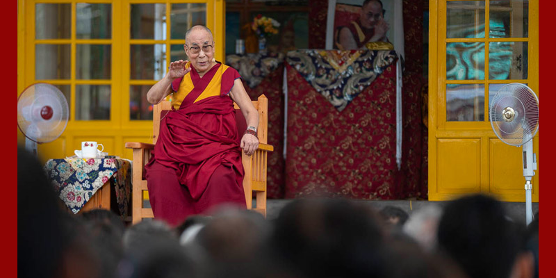 Dalai Lama Explains Tibetan Policy Does Not Consider Chinese as Enemies