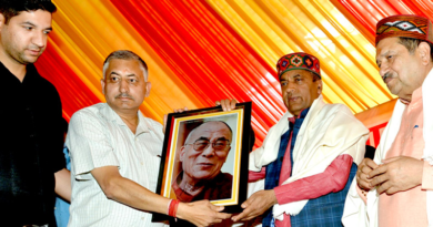 Himachal CM Feels Blessed of Dalai Lama Living in the State