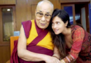 Bollywood Actress Riya Sen Seeks Dalai Lama Blessing