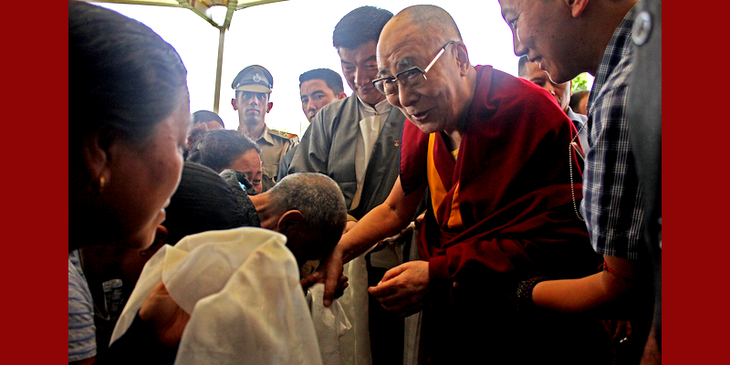 Dalai Lama Leaves for 19 Day Ladakh Visit En Route Delhi
