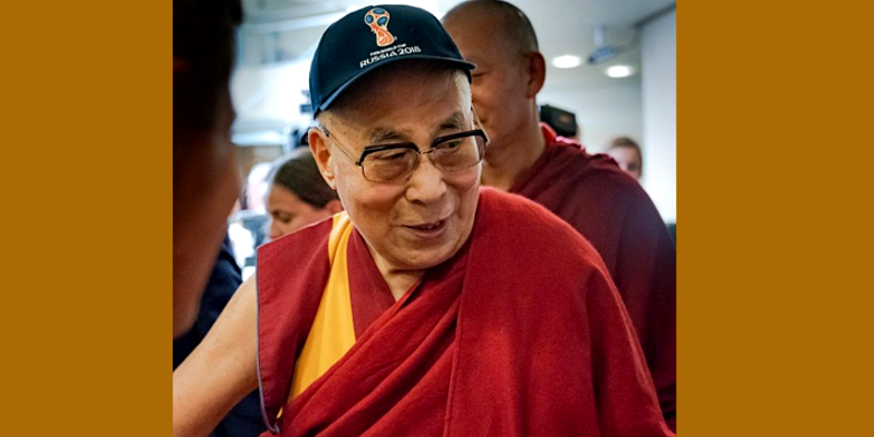 Dalai Lama Replies About His Favorite Team at World Cup