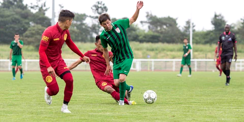 Tibetans Showed Some Skills Despite Losing the First Match