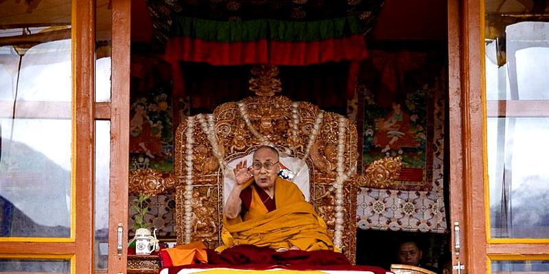 Buddhists and Muslims alike Revere Dalai Lama as the Supreme Leader