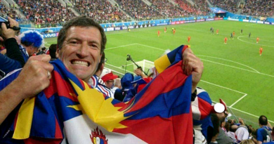 French Detained for Tibetan Flag at FIFA World Cup Says Tibet is His Life
