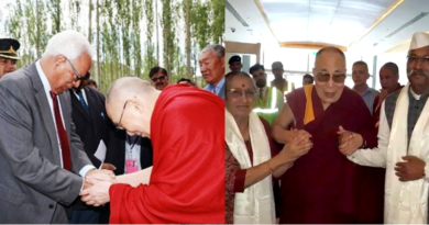 Jammu & Kashmir Governor Meets the Dalai Lama