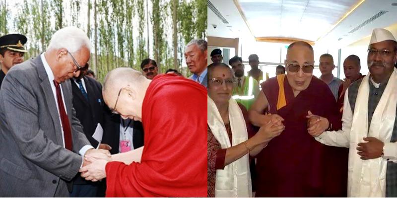 Jammu & Kashmir Governor Meets the Dalai Lama