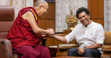 Sachin Tendulkar Wishes Dalai Lama on His Birthday