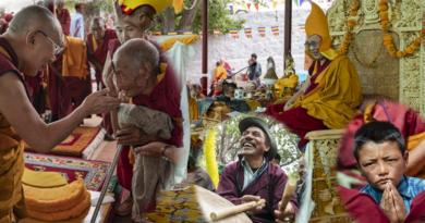 These Photos Show the Joy of Dalai Lama's Visit to Nubra