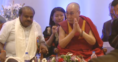 CM H D Kumaraswamy Attends Tibetans' 'Thank You Karnataka' Event with Dalai Lama