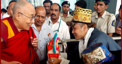 His Holiness the Dalai Lama Arrives in Goa