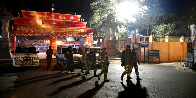 Two Arrested for Bodhgaya Blast During Dalai Lama Visit