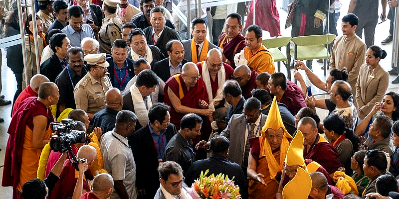 Warm Welcome Receives the Dalai Lama in Bengaluru City