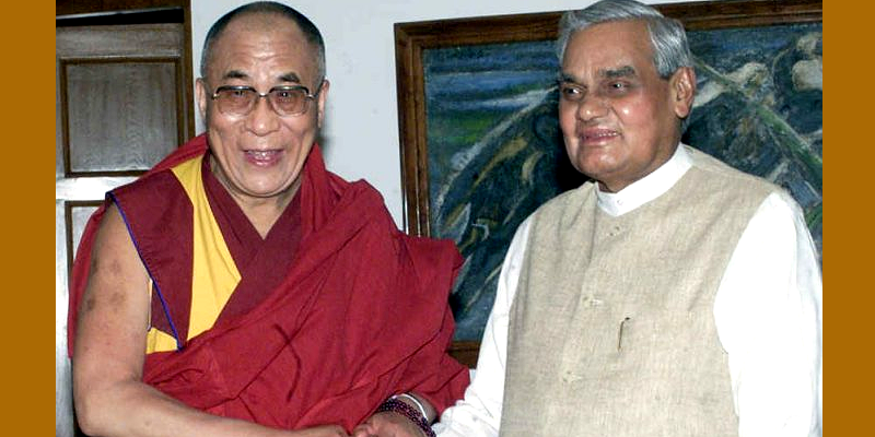 Atal Bihari Vajpayee, One of Strongest Voices for Tibet: Condoles Dalai Lama