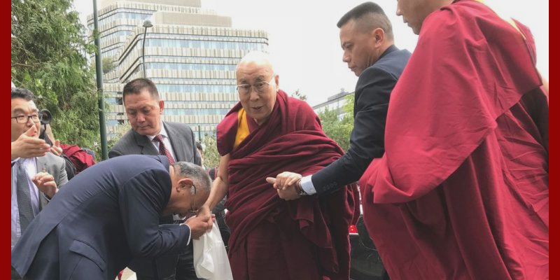 Dalai Lama Arrives Yet Again in Sweden Probably the Last