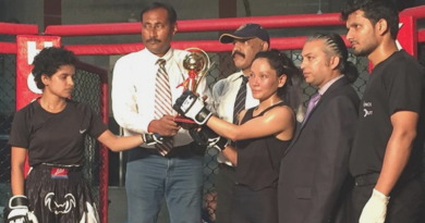 Tibetan Girl Wins International Fighting Championship in Delhi