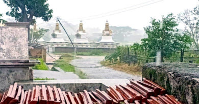 Cyclone in Odhisha Severely Affects the Tibetan Settlement
