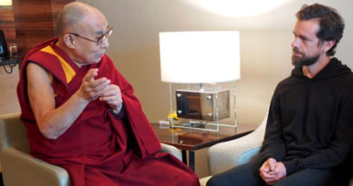 Twitter CEO Meets and Thanks 'Amazing Teacher' Dalai Lama