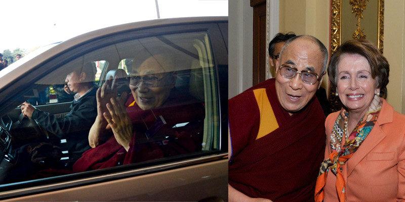 Dalai Lama Returns to Dharamshala, Congratulates Nancy