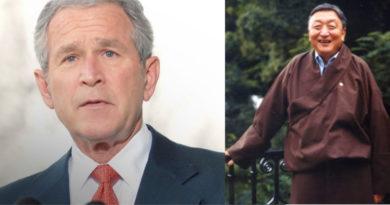 Former US President George Bush Condoles Late Gyari Lodi