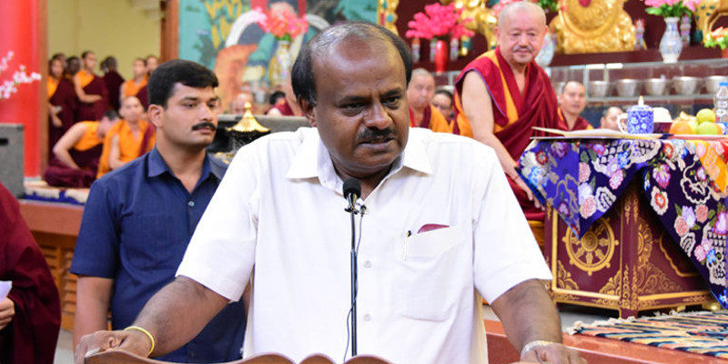 Karnataka CM Pays Special Visit to Tibetan Settlement, Assures All Assistance
