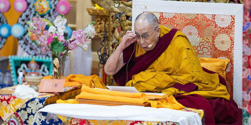 Dalai Lama Teachings Scheduled in May, Register Online Now