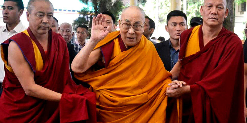 His Holiness Dalai Lama Begins 3 Days Teaching in Dharamsala