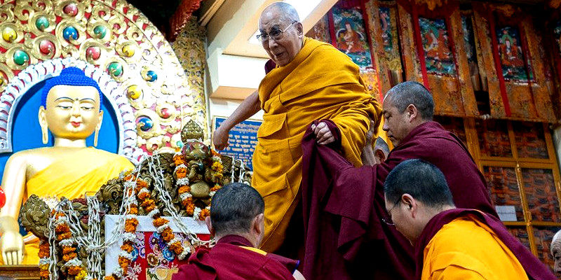 Individual Audience With Dalai Lama Will No Longer Be Given