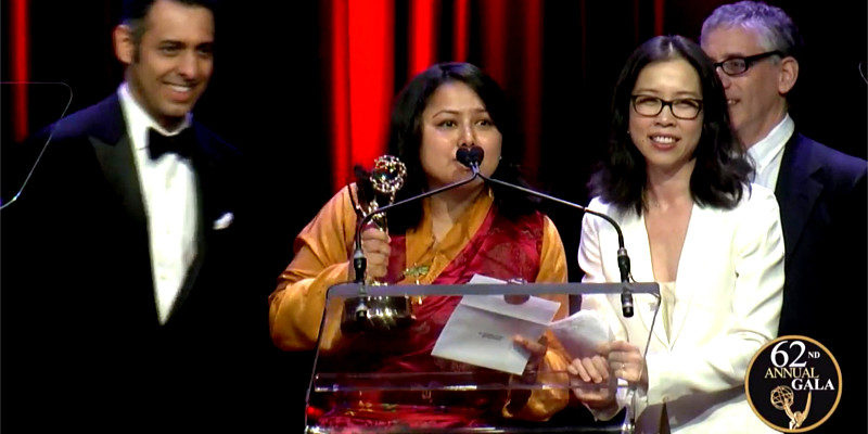 Young Tibetan Woman Wins Highest American Television Award