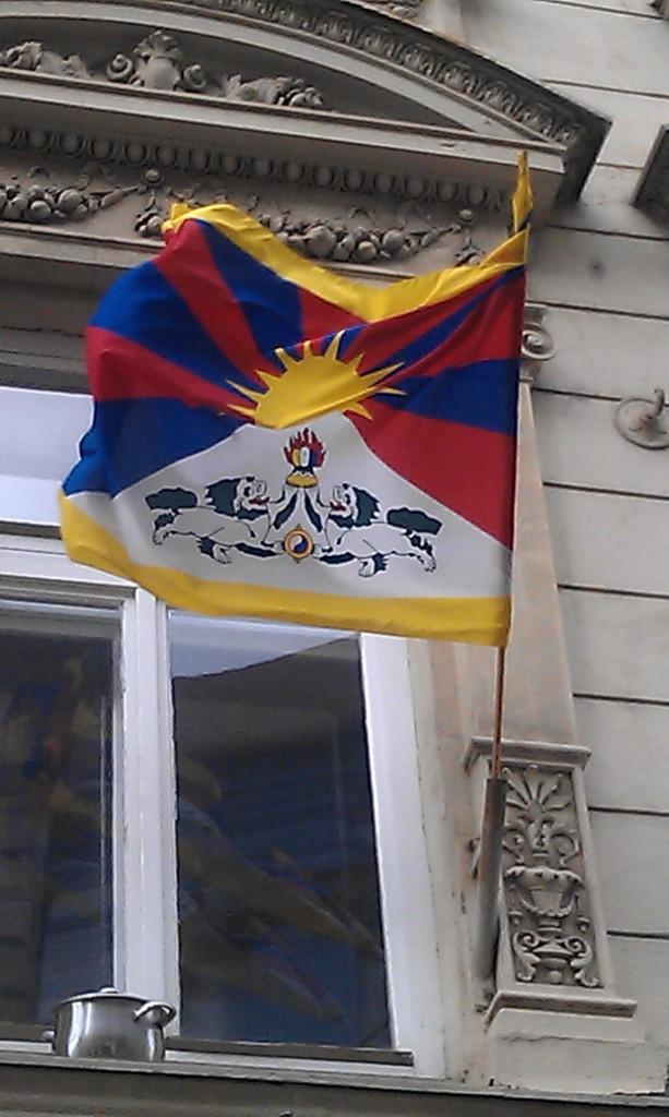 Czech Rallies For Free Tibet With 740 Town Halls Hoisting Tibetan Flags
