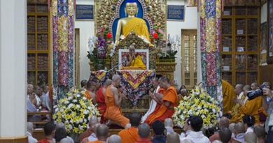 Dalai Lama Begins Four Days Special Teachings For Asians