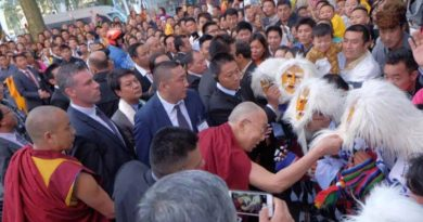 H.H. The Dalai Lama Arrives In Belgium For 18-day European tour
