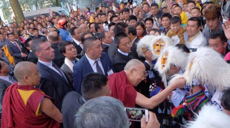 H.H. The Dalai Lama Arrives In Belgium For 18-day European tour