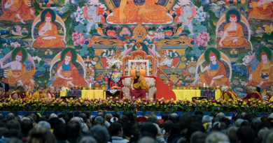 Dalai Lama's Five European Nation Teaching Tour