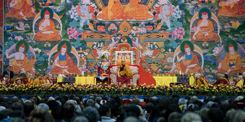 Dalai Lama's Five European Nation Teaching Tour