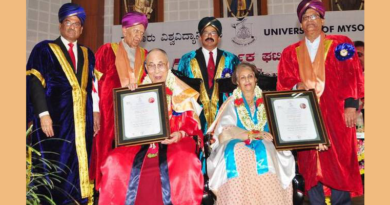 Dalai Lama Conferred Honorary Doctorate At University Of Mysuru