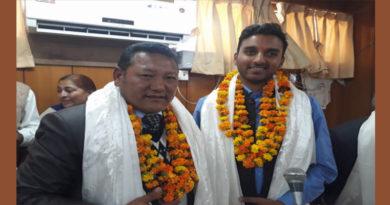 First Tibetan Dharamshala Municipal Corporation Member Takes Oath