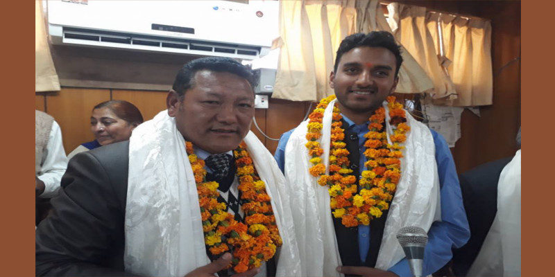 First Tibetan Dharamshala Municipal Corporation Member Takes Oath