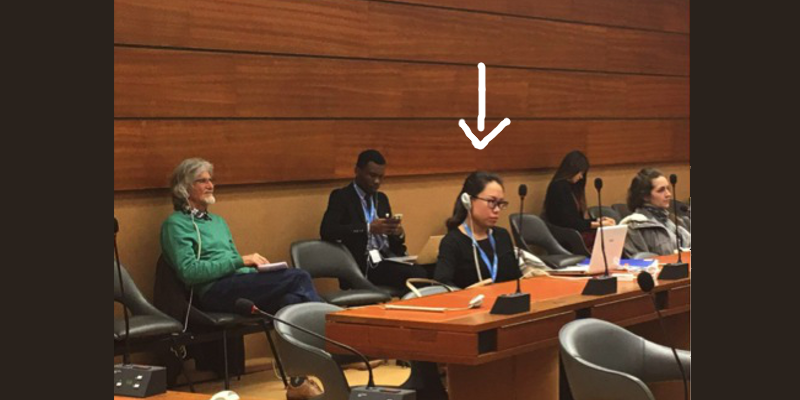Chinese Diplomat Attempted To Confiscate And Destroy A Tibetan's Coverage Of Tibet Briefing At United Nations