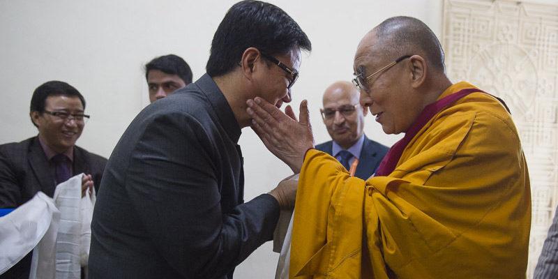 China Should Not Interfere India's Internal Matters: Rijiju