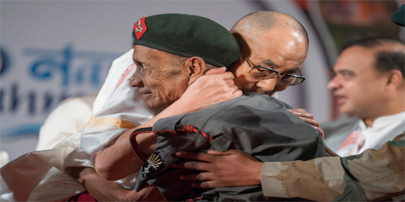 After 58 Years, Dalai Lama Meets Assam Rifles Soldier Who Helped Him Escape Tibet