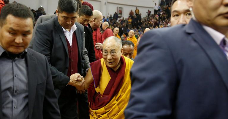 China Claims They Gave Dalai Lama Title