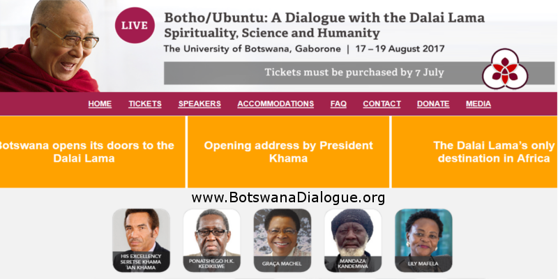 Dalai Lama Will Attend Conference In Africa In August