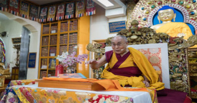 If You Love Me, Don't Let Me Die Sadly: Dalai Lama To Tibetan Youths
